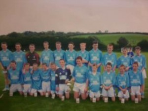 U-14 Declan Byrne tournament winners 2007