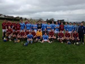 Graigue Ballycallan Junior A challenge v St. Oliver Plunketts, Dublin 16th March 2014