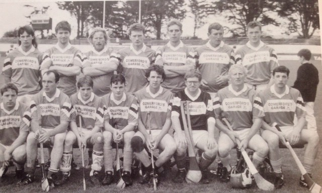 BACK ROW L to R: John Nugent, Michael Doran, BillyRonan RIP, Joe Delaney, John Calbeck, Johnny Ronan, Eddie O'Dwyer FRONT ROW L to R: Michael Walsh, Jim Maher, Paul Ronan, Tommy Dermody, Bill Ryan, Milo Hennessy, Joe Brennan, Edward Teehan