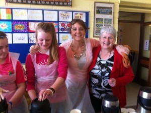 Tea party in St. Aidan's NS to raise funds for their trip