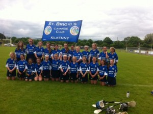 St. Brigid's after loosing Shield Semi Final