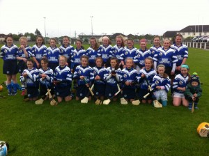 Picture taken after the girls qualified to represent Kilkenny in Feile 2014 in Derry, a wonderful achievement
